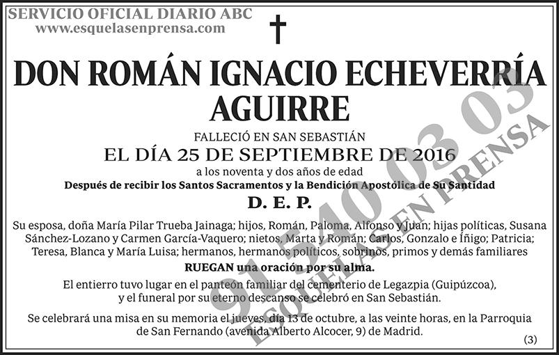 Román Ignacio Echeverría Aguirre